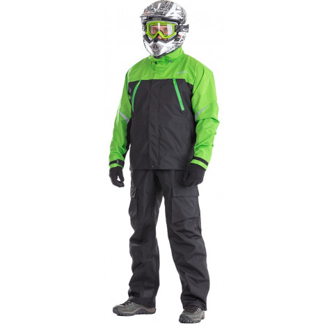 Мембранная куртка Dragonfly QUAD BLACK-GREEN
