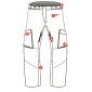 Мембранные брюки Dragonfly QUAD BLACK 2018
