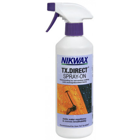 Водоотталкивающая пропитка для мембранных тканей Nikwax TX Direct Spray-On