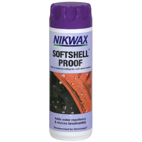 Водоотталкивающая пропитка для одежды SoftShell Proof (300 мл), Nikwax