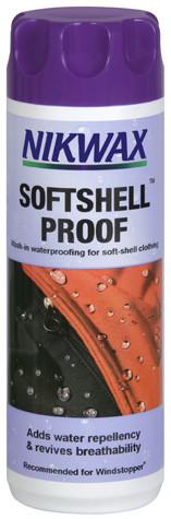 Водоотталкивающая пропитка для одежды SoftShell Proof Nikwax