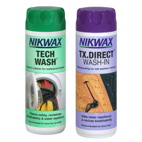 Набор Tech Wash/TX.Direct (150 мл), Nikwax