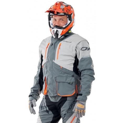 Куртка Dragonfly Эндуро Freeride DF Grey-Orange