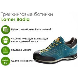 Трекинговые ботинки Lomer Badia, octane/celery