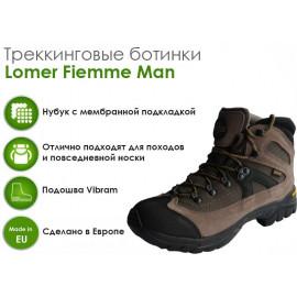 Трекинговые ботинки Lomer Fiemme Man, Caribou/Olive