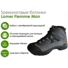 Трекинговые ботинки Lomer Fiemme Man, Grey/Navy