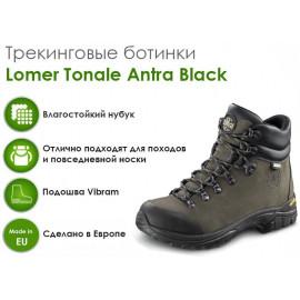 Трекинговые ботинки Lomer Tonale, Antra Black nub