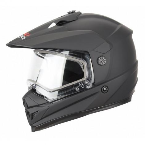 Снегоходный шлем DSE1 (XTR, DSE1) (двойное стекло, Термопластик, мат., Черный)