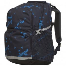 Детский школьный рюкзак Bergans 2GO 24 L, MidnightBlue Triangle