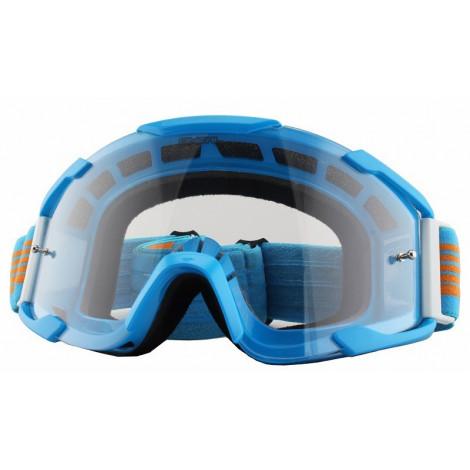 Маска кроссовая O`Neal B2 THREESIXZERO Radium, голубая
