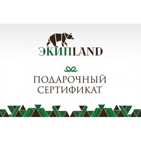 Подарочный сертификат Экиплэнд, 1000 руб.