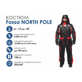 Зимний костюм Fossa North Pole