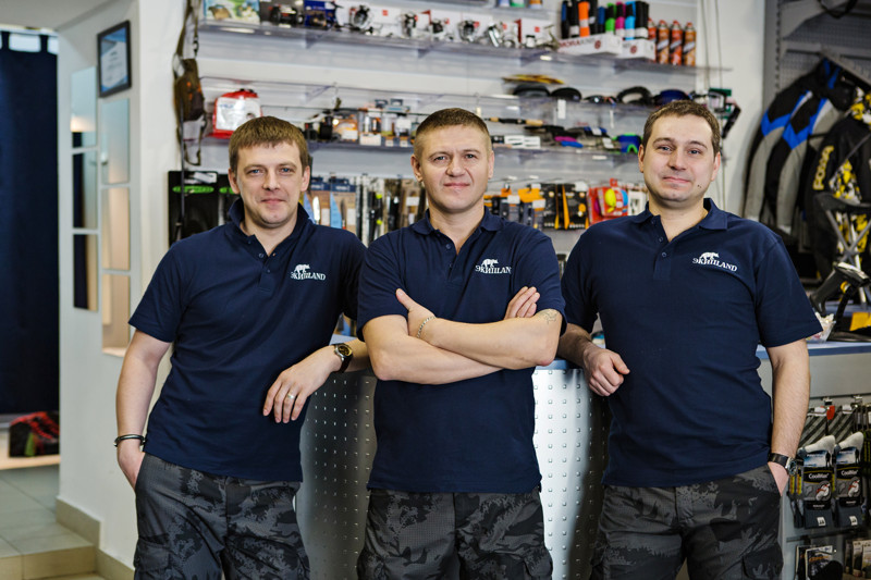 Команда магазина Экиплэнд